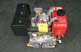 الصين High Efficiency Single Cylinder Air Cooled Diesel Engine For Tiller المزود